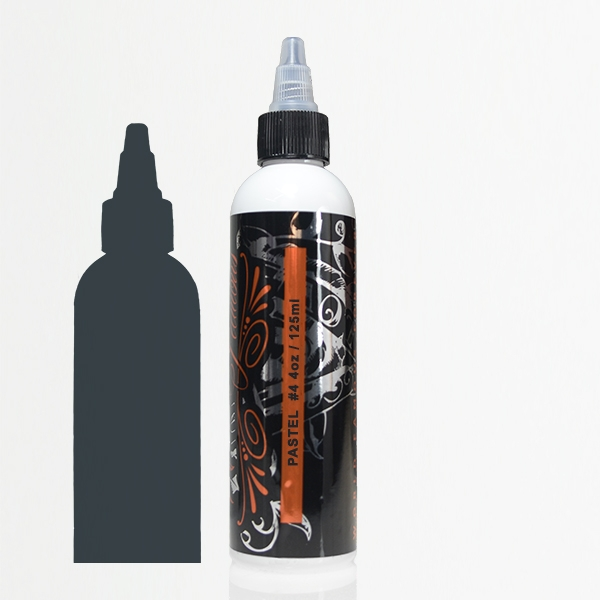 WORLD FAMOUS INK Pancho Pastel Grey #4 120ml (4oz)